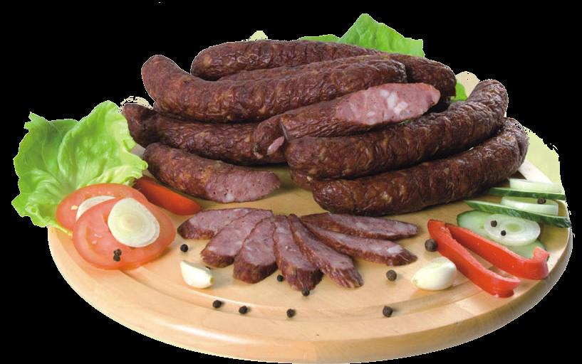 kiełbasa tradycyjna podsuszana - masarnia Brzozowiec